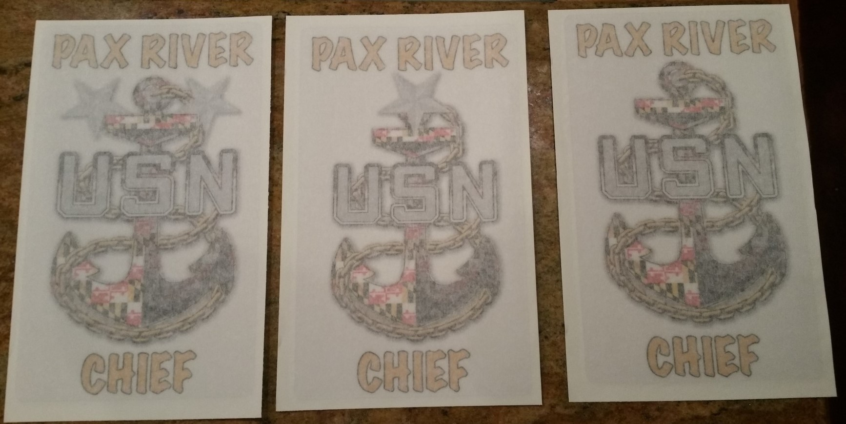 VEHICLE DECALS CHIEFS